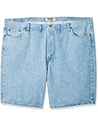 3f0675a9c89 Authentics Men s Big   Tall Classic Relaxed Fit Five Pocket Jean Short