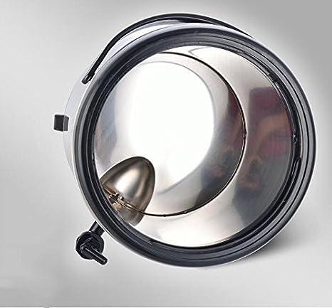 SQL 304 de acero inoxidable doble aislados barril leche tetera máquina de jugo de café 8L Black: Amazon.es: Hogar