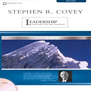 Stephen R. Covey on Leadership Audiobook