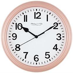 Mainstays 8.75 Basic Clock, Blush