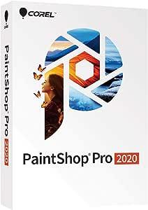 Corel PaintShop Pro 2020 - Photo Editing and Graphic Design Software [PC Disc][Old Version]