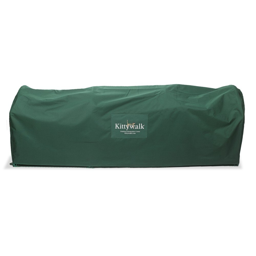 Kittywalk Outdoor Protective Cover for Lawn Version - Green by Kittywalk