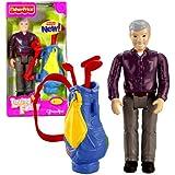 Fisher Price Grandfather Loving Family Grandpa Doll Figure - Caucasian