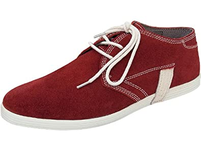 bugatti shoes Herren Sneakers Rot Schnürer rot