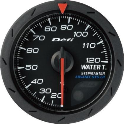 DEFI Advance CR Black 52mm Water Temperature Gauge (Metric)