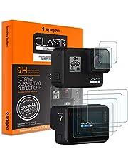 Spigen, Protector de Pantalla para GoPro Hero7/6/5, 6 Pack (2 * Cristal Templado para Camera + 4 * Protector Pantalla para Screen), Gopro Accesorios, Transparente, Anti-Scratch (S47GL26221)