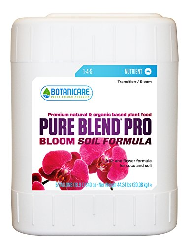 Botanicare PURE BLEND PRO Bloom Soil Nutrient 1-4-5 Formula, 5-Gallon by Botanicare