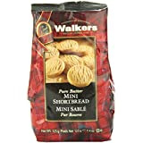 Walkers Pure Butter Mini Shortbread Rounds Cookies, 125 Gram