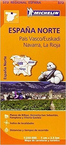 Pais Vasco, Navarra, La Rioja - Michelin Regional Map 573 Michelin Regional Maps by Michelin 2013-03-25: Amazon.es: Michelin: Libros