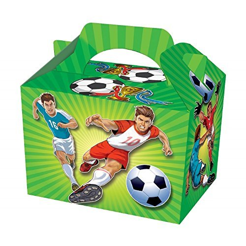 Football Party Boxes x10 by Playwrite