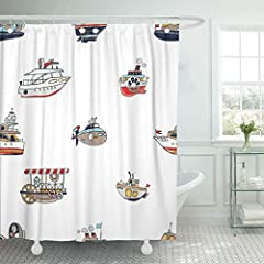 1. The fabric shower curtain which is made of polyester feels very substantial.Use it as a stand alone curtain or as a liner for a cloth shower curtain.This shower curtain also comes with plastic hooks and metal grommets. 2. It is sturdy, and...
