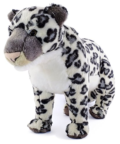 Lila the Snow Leopard | 17 Inch (Tail Measurement not Included!) Stuffed Animal Plush | By Tiger Tale ()