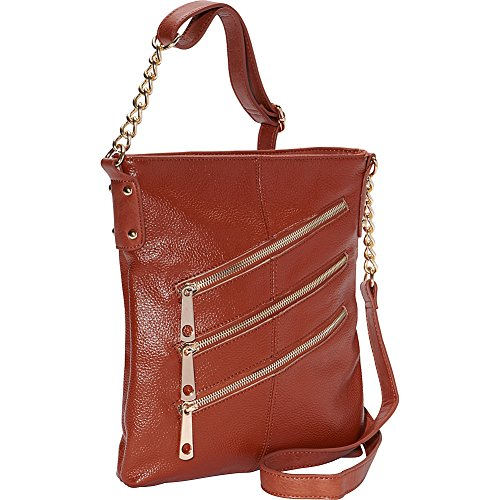 Collections Crossbody Zip amp; Front Brandy 3 R R FaxpnqqE