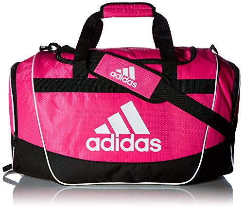 (adidas Defender II Medium Duffel Bag, Medium, Shock Pink)
