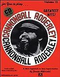 Volume 13 - Cannonball Adderly, Jamey Aebersold, 1562241680