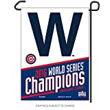 Officially Licensed MLB Chicago Cubs 2016 World Series Champion Garden Flag