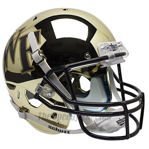 Wake Forest Demon Deacons Chrome Officially Licensed Full Size XP Replica Football Helmet ()