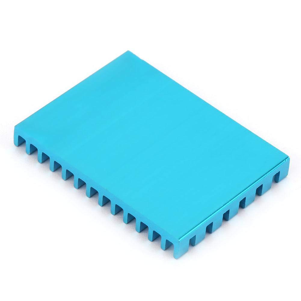 Furnoor Aluminum Heat Sink,5pcs P40530-Bu Aluminum Cooling Fin Heat Sink Cooler for Circuit Board Chip