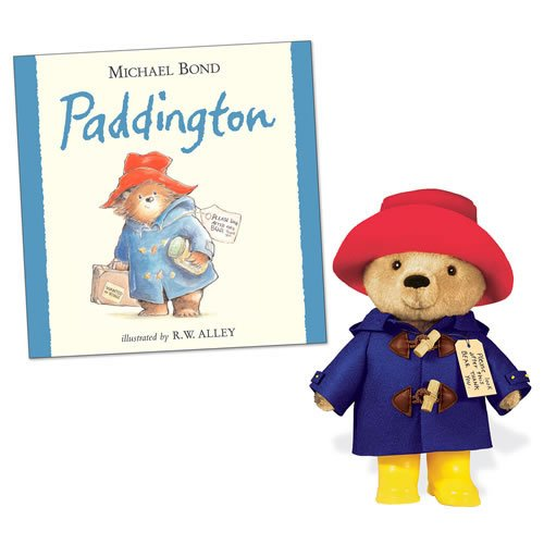 YOTTOY Paddington Bear Hardback Book & 10