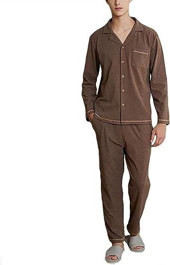 Bienwwow Conjunto de pijama para hombre, súper suave, ropa de ...