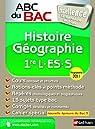 Histoire-Géographie 1e L-ES-S : Programme 2011 par Gicquel