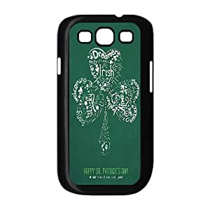 Unique Phone Case Design 8Lucky Clover & Irish Flag- For Samsung Galaxy S3
