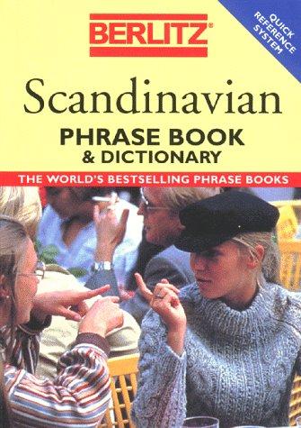 Danish Phrasebook Berlitz - Berlitz Scandinavian Phrase Book & Dictionary (Berlitz Phrase Books)