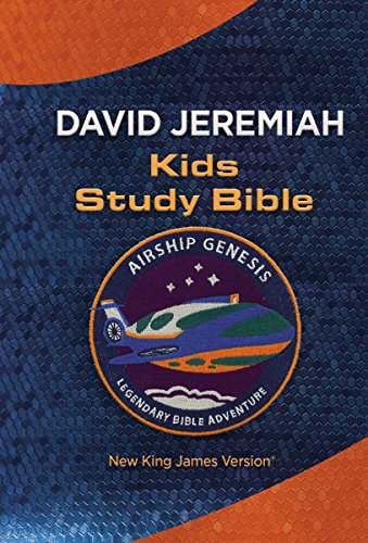 NKJV: Airship Genesis Kids Study Bible: TechTile Leather Edition