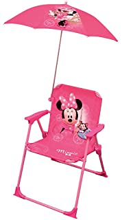 Fun House 712907 Disney Minnie Folding Camping Chair for Children