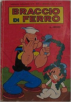 Book Braccio di ferro n°111 del 30 marzo 1979