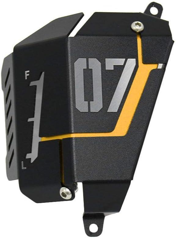 KKmoon Auto CNC Aluminium Refroidisseur Capuchon de R/éfrig/érateur Couvercle de R/épartiteur pour Yamaha MT-07 FZ-07 2014-2019 Noir