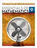 Essentials of Mathematics : An Applied Approach, Aufmann, Richard N. and Lockwood, Joanne, 1133734146