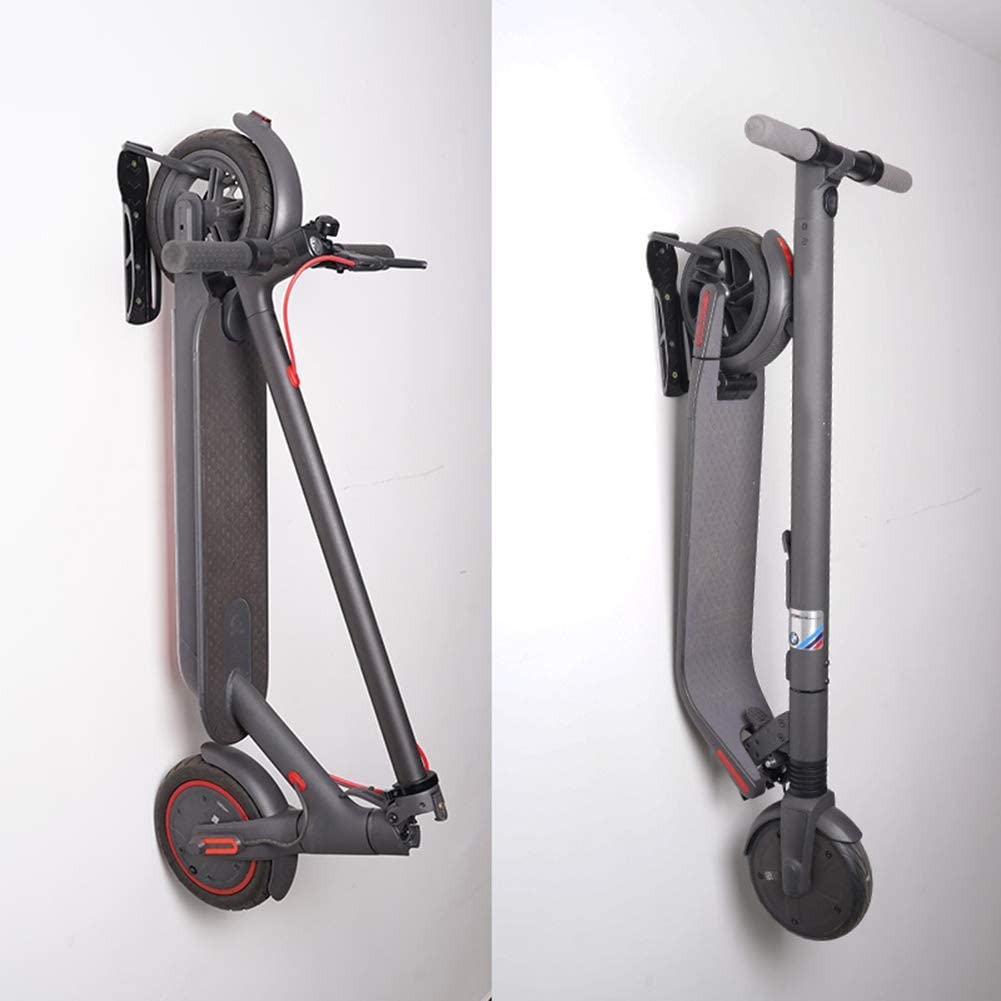 10.042.95in Storage Bracket Wall-Mounted Hanging Rack Liuyanu Scooter Wall Holder for Xiaomi m365 and for Ninebot Scooter for Home//Shop