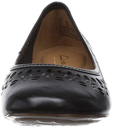 Clarks Henderson Hot Black Leather 5.5 UK D / 39 EU