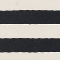 Safavieh Montauk Collection MTK712D Handmade Flatweave Black and Ivory Cotton Runner (2\'3\