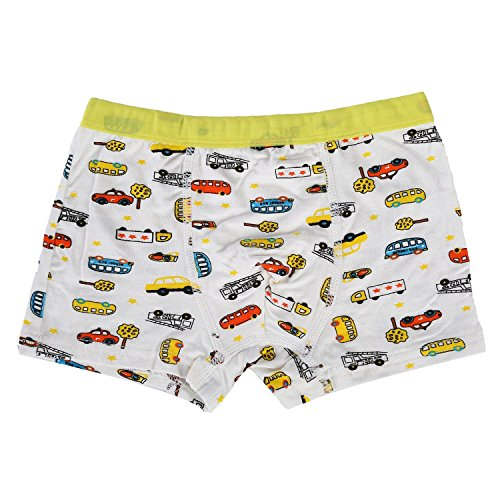 Bala Bala Boy's Boxer Brief Multicolor Underwear (Pack Of 5) (XL/Car Underwear, (Pack Of 5)/Car Underwear) by Bala Bala (Image #6)'