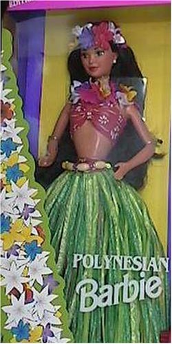 Special Edition Polynesian Barbie Dolls of the World Collection (Hula Barbie Doll)