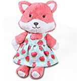 Mila Plush Fox in Dress by The Peanut Shell