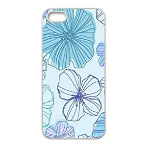 Pink Floral Unique Fashion Printing Phone Case for Iphone 5,5S,personalized cover case ygtg570845