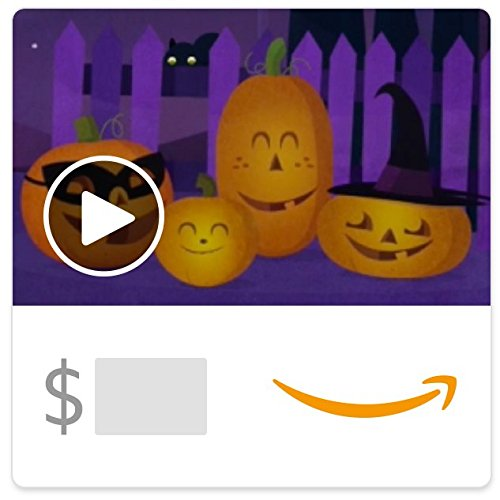Amazon eGift Card - Pumpkin Quartet (Animated) (Good Halloween Stores)