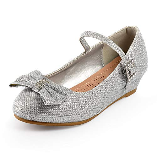 Nova Utopia Girls Low Medium Heel Dress Sandal