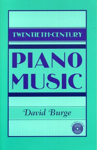 Twentieth Century Piano Music W/Cd