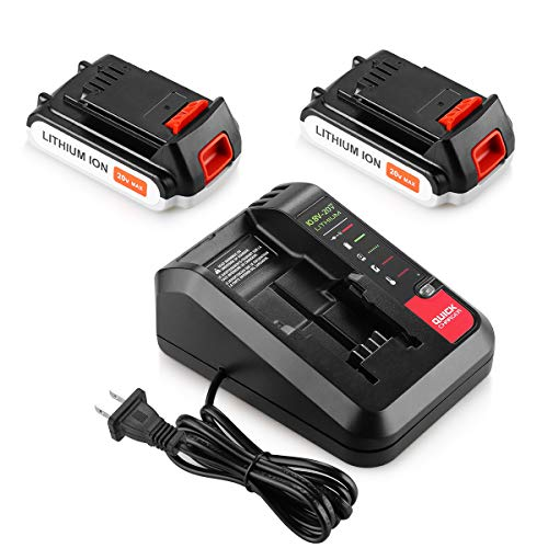 black and decker battery 20v - 5