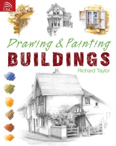 Drawing & Painting Buildings (House Drawing)