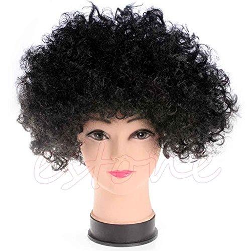 Stebc (Disco Afro Wig In Black)
