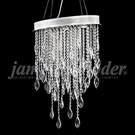 James moder sculptured crystal leaf 20w silver chandelier james moder sculptured crystal leaf 20quotw silver chandelier aloadofball Images