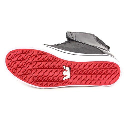Supra, Sneaker uomo Rosso rosso (schwarz/rot/weiss)