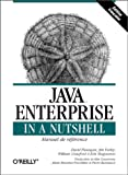 img - for Java Enterprise in a Nutshell book / textbook / text book