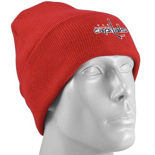 61e47fd4381 Reebok Washington Capitals Red Watch Knit Beanie