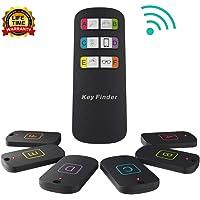 $27 Get Key Finder Locator, Item Locator Wireless RF Item Tracker with 115 Feet Range Remote Control…